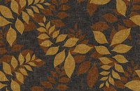 Forbo Flotex Floral 500018 Field Cranberry, 640011 Autumn Walnut