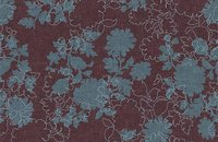 Forbo Flotex Floral 500018 Field Cranberry, 650012 Silhouette Berry