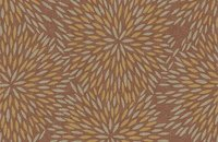 Forbo Flotex Floral 500018 Field Cranberry, 660004 Firework Ginger