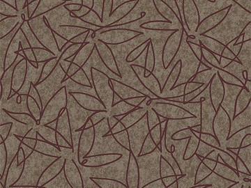 Forbo Flotex Floral 500019 Field Truffle