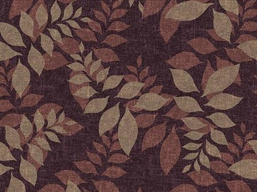 Forbo Flotex Floral 640012 Autumn Mulberry