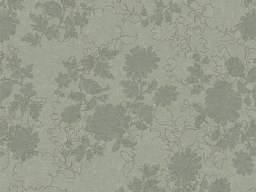 Forbo Flotex Floral 650003 Silhouette Mint