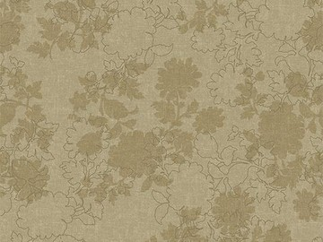 Forbo Flotex Floral 650004 Silhouette Linen