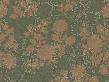 Forbo Flotex Floral 650008 Silhouette Heath