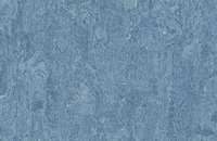 Forbo Marmoleum  Real 3048 graphite, 3055 fresco blue